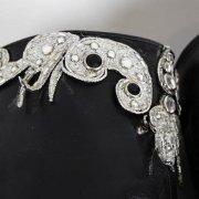 Liberace Stage-Worn Disco Mirror Helmet & Boots