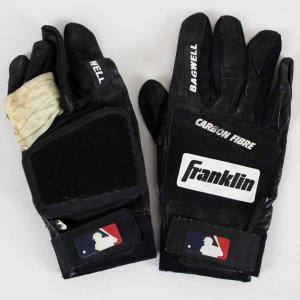 Jeff Bagwell Game-Used Houston Astros Batting Gloves