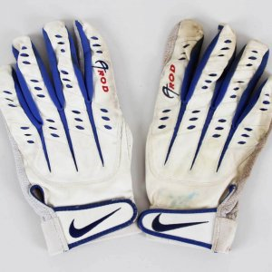 Alex Rodriguez Game-Used, Signed Texas Rangers Batting Gloves