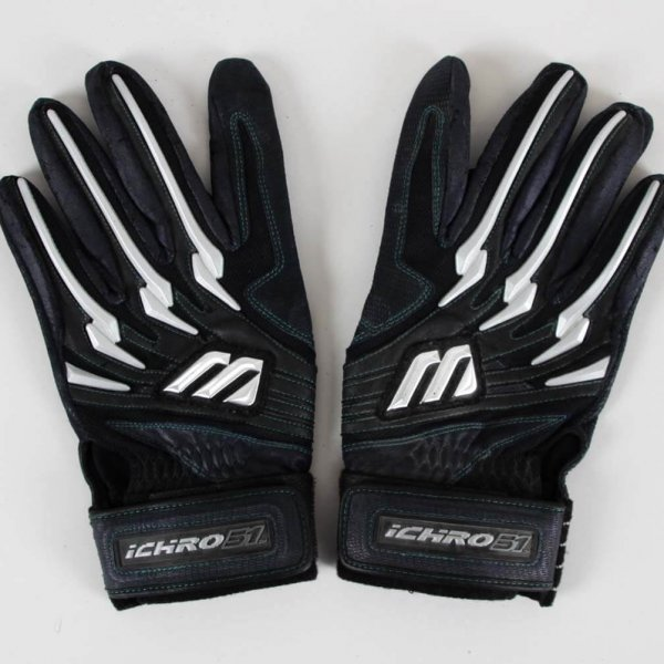 Ichiro Suzuki Game-Used Seattle Mariners Batting Gloves - COA 100% Team
