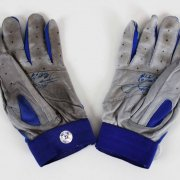 2003 Sammy Sosa Game-Used, Signed Cubs Batting Gloves from HR #518 - COA Player Letter