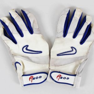 Alex Rodriguez Game-Used Texas Ranger Batting Gloves