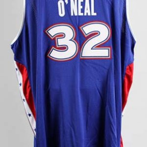 2005 Shaquille O'Neal Game-Worn All-Star Jersey