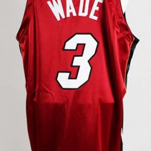 2005-06 Dwyane Wade Game-Worn Miami Heat Jersey