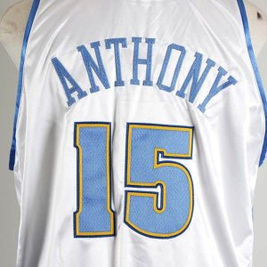 2004-05 Carmelo Anthony Game-Worn Denver Nuggets Jersey