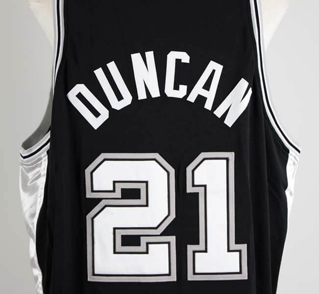 clearance lot detail 2006 07 tim duncan game used san antonio spurs home  jersey beed0 56928  aliexpress 2005 06 tim duncan game worn san antonio  spurs ... e96d8e905