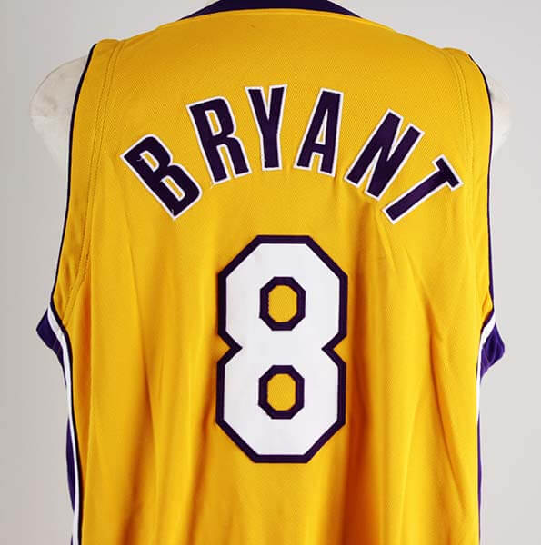 7cea05cd7dd 2004-05 Kobe Bryant Game-Worn Los Angeles Lakers Jersey COA 100% Authentic  Team