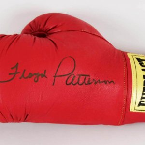 Floyd Patterson Signed Boxing Glove - JSA