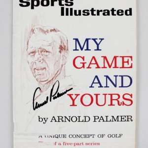 Arnold Palmer Signed July 15, 1963 SI Magazine - JSA