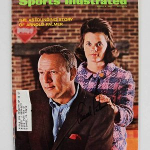 Arnold Palmer Signed  March 6 1967 SI Magazine - JSA