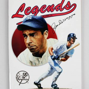 1990 Joe DiMaggio Signed Legends Sports Memorabilia Price Guide - JSA