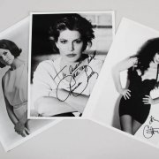 Cher, Claire Bloom & Priscilla Presley Signed 8x10 Photos - JSA