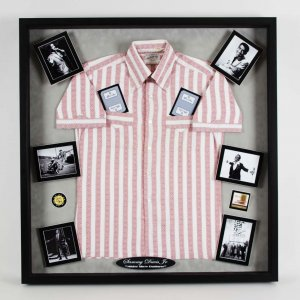 Sammy Davis Jr. Personally Owned/Worn Shirt 33.5 x 34.5 Display