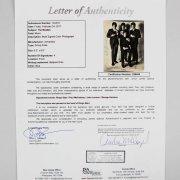 1965 The Beatles Signed Photo John Lennon, Paul McCartney, George Harrison & Ringo Starr Meet Elvis Presley (Provenance Letter) JSA Full LOA