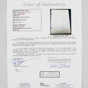 Buddy Holly Signed Grade School Homework - JSA Full LOA