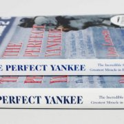 "(2) Don Larsen Signed ""The Perfect Yankee"" Books - COA"