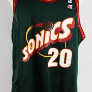 Gary Payton Signed Seattle SuperSonics Jersey - COA JSA