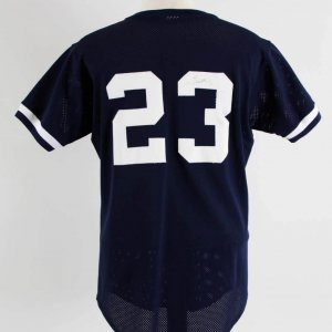 Don Mattingly Batting Practice Worn New York Yankees Jersey 100% Team
