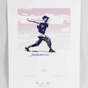 Ted Williams Signed Boston Red Sox Print (Carlo Beninati Artist Proof) 24.75x32 AP LE 23/29 - JSA