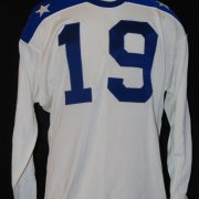 1965 Jim Otto Game-Worn, Signed AFL All-Star Jersey Oakland Raiders COA 100% Authentic Team Graded 20/20