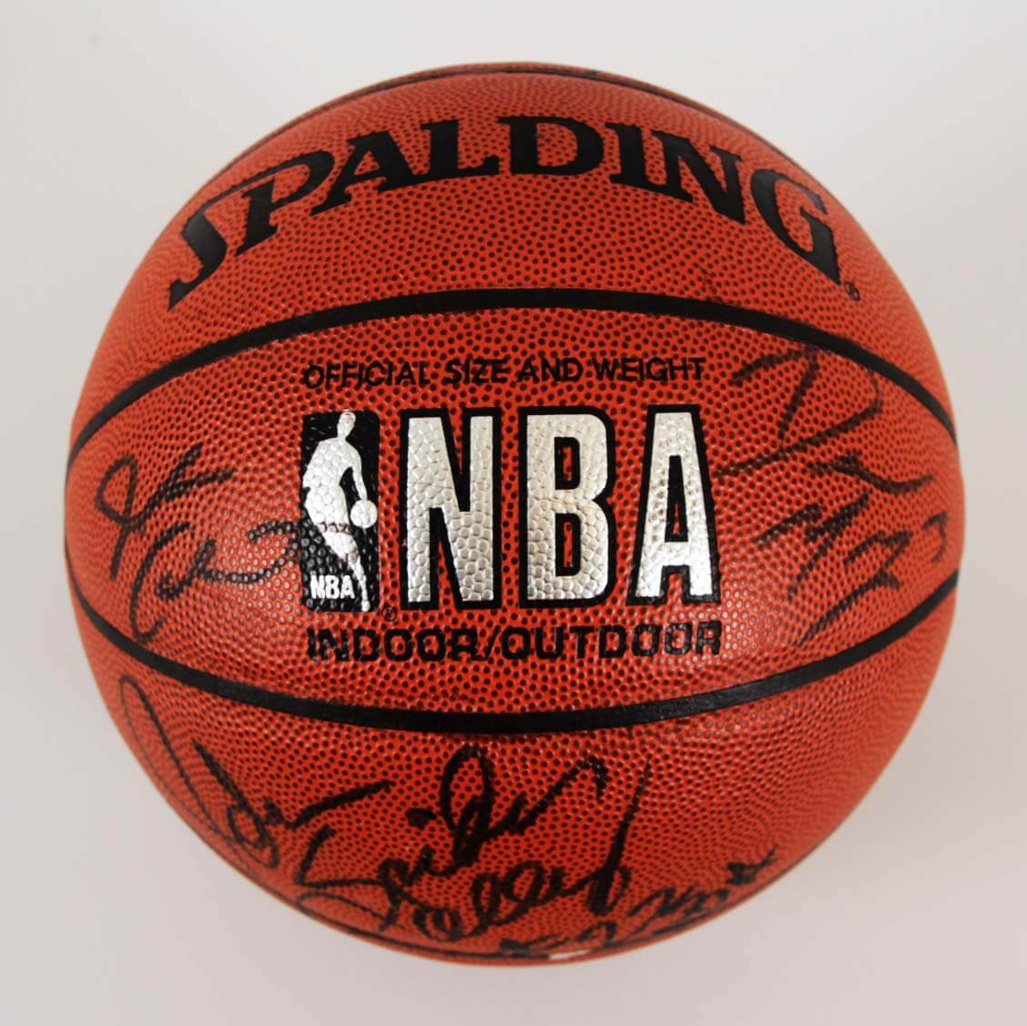 41ac6a93 1999-00 Los Angeles Lakers Multi-Signed Basketball – Kobe Bryant etc. – JSA