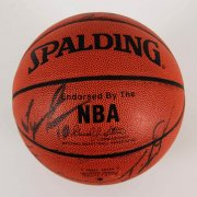 1999-00 Los Angeles Lakers Multi-Signed Basketball - Kobe Bryant etc. - JSA
