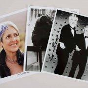 4 Celebrity Music  Signed 8x10 Photos - Kenny Rogers & George Burns etc. - JSA