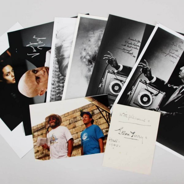 Celebrity Lot Signed Photos & Cut - Angelina Jolie etc. - JSA