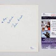 Nelson Riddle Signed 5x6 Vintage Album Page - COA JSA