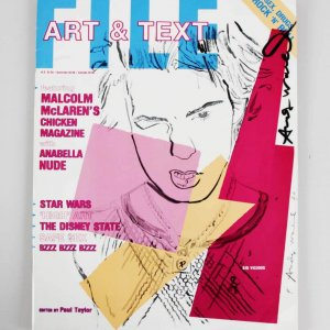 Andy Warhol Signed Magazine 1986 Art & Text Magazine - JSA