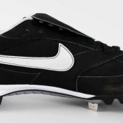 Mariano Rivera Game-Worn New York Yankees Cleats Shoes 100% Team LOA