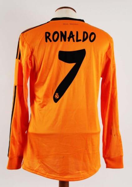 A Cristiano Ronaldo Game-Used #7 Real Madrid Away Shirt 2013/2014 La Liga