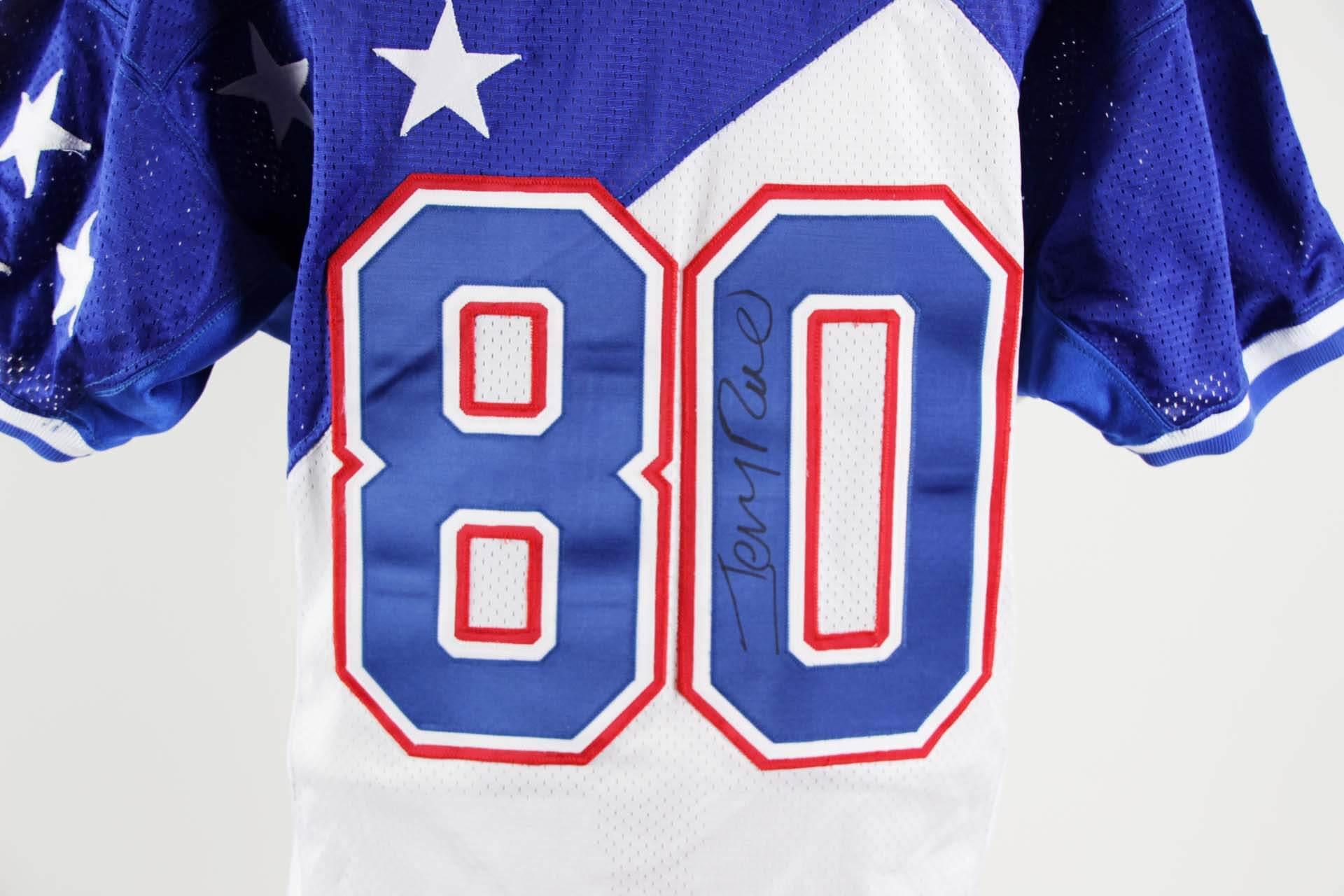 various colors 1f7c6 3a6ef Jerry Rice Signed 1995 Authentic Pro Bowl Jersey – JSA   Memorabilia Expert