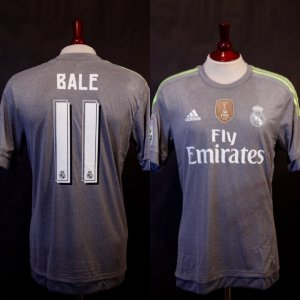 A Gareth Bale Game-Used #11 Real Madrid Away Shirt.  9/12/2015 Real Madrid v Espanyol (6-0).
