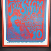 1966 Bill Graham Presents: Sam the Sham & the Pharoahs - The Sit-Ins Concert Poster at the Fillmore Auditorium, San Francisco (Second Printing)