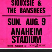 "1987 DAVID BOWIE/SIOUXSIE & THE BANSHEES  15""x22"" Original Concert Poster"
