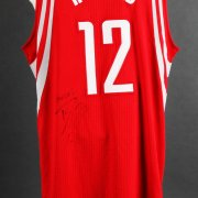 2015-16 Dwight Howard Game-Worn, Signed Houston Rockets Jersey (Playoffs vs. Warriors Game 2) - JSA