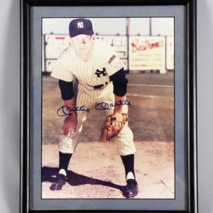 "Mickey Mantle Signed 8x10 Color ""1951"" Photo - JSA"