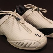 A Pair of Venus Williams Game-Used Custom Reebok Tennis Shoes.  2003 WTA Season.