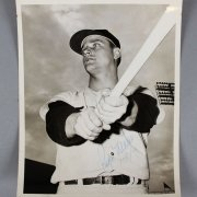 Yankees Roger Maris Signed Original 8x10 Vintage Photo By Fred Keenan