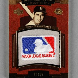 2004 Upper Deck Ted Williams Sweet Spot Classics Baseball Card LE 13/25 Red Sox