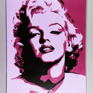 Marilyn Monroe Giclee by Billy Lopa Original