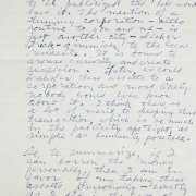 Howard Hughes Handwritten, Signed Letter - JSA Full LOA