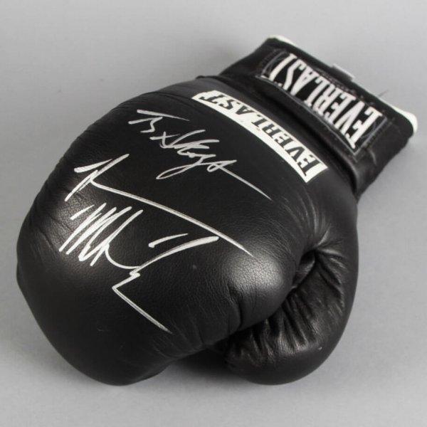 Mike Tyson Signed Boxing Glove - JSA