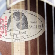 Epiphone Guitar Signed by B.B. King & (6) Others - JSA