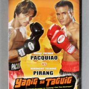 "Manny ""Pacman"" Pacquiao Fight-Worn, Signed Boxing Boots vs. Narogrit Fashung Pirang (PacMan LOA)"