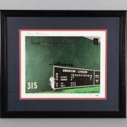 Ted Williams Signed Boston Red Sox Lithograph - PSA/DNA Full LOA