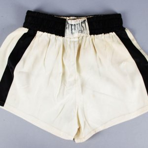 1954 Floyd Patterson Fight-Worn Boxing Trunks vs. Jesse Turner (Craig Hamilton LOA)