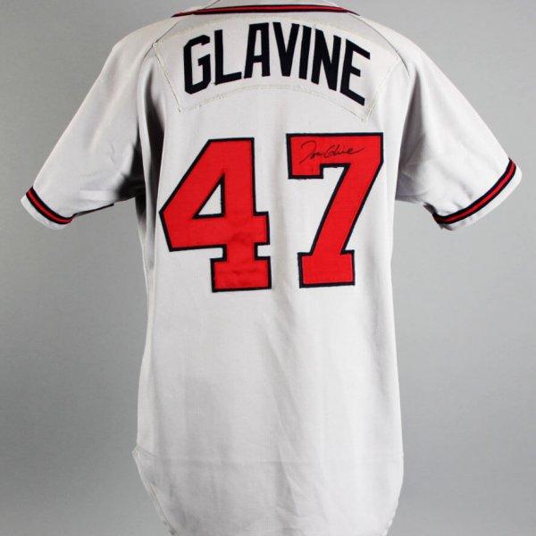 1992 Tom Glavine Game-Worn, Signed Atlanta Braves Jersey - JSA & 100% Team