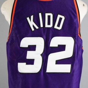 1998-99 Jason Kidd Game-Worn Phoenix Suns Jersey - COA 100% Team